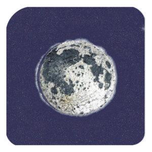 La luna dell'officina del gelato